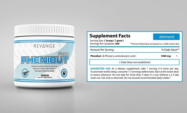 Revange Nutrition Phenibut